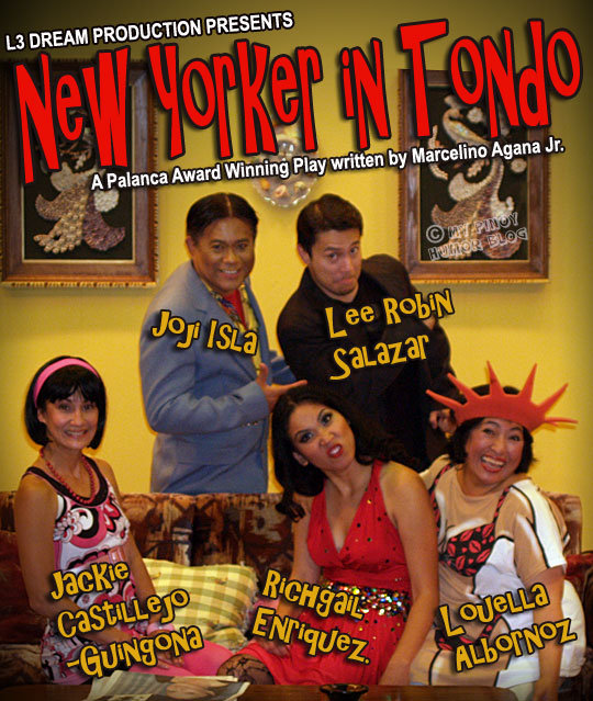 new yorker in tondo characters